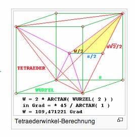Tetraeder Volumen Berechnen : tetrader winkel blau rot mathelounge ~ Themetempest.com Abrechnung
