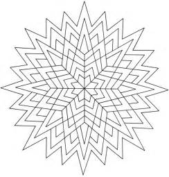 Creative Haven Coloring Book Geometric Star Designs