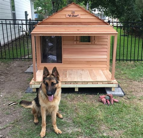 godzilla dog house custom cedar dog house