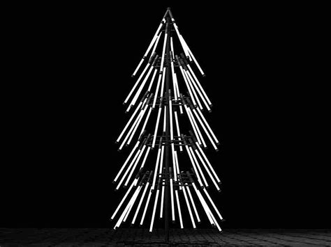 modern lighted christmas tree unconventional christmas tree tips for a modern vacation