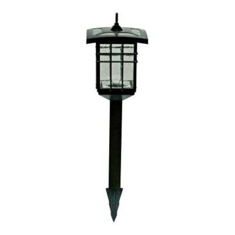 home depot outdoor lighting kits malibu 4 piece triple function led solar outdoor mahogany
