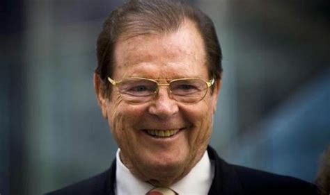 roger moore eyebrows spitting image sir roger moore who played james bond seven times has no