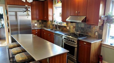 how do you clean a stainless steel kitchen sink images of stainless steel countertops stainless gallery 9866