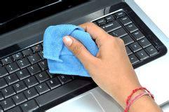t駘駱hone de bureau het schoonmaken het toetsenbord stock foto afbeelding 21018282