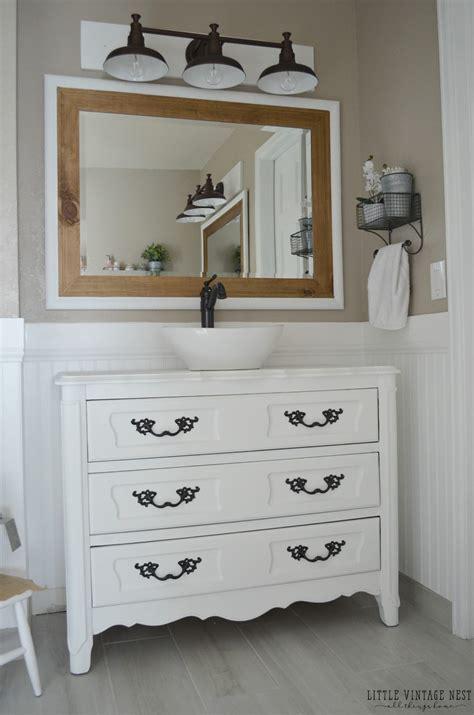 farmhouse master bathroom reveal  vintage nest