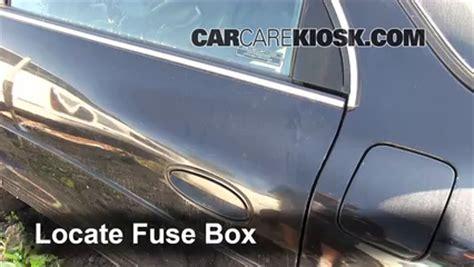Blown Fuse Check Oldsmobile Aurora