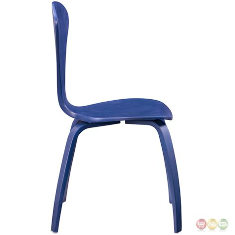 blue wood dining chairs coaster 104004 blue wood dining