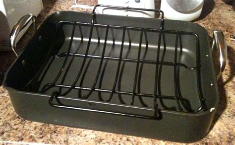 roasting pan with rack roasting pan