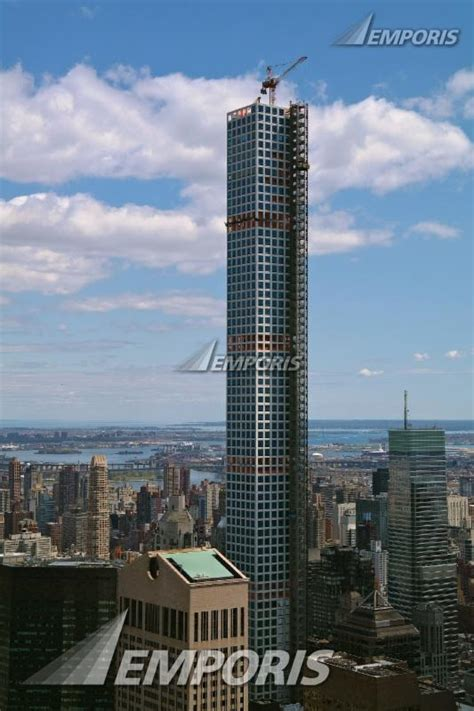 View From Top Of The Rock, 432 Park Avenue, New York City