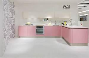 Cuisine Rose Poudré : cuisines pastel des cuisines croquer inspiration cuisine ~ Melissatoandfro.com Idées de Décoration