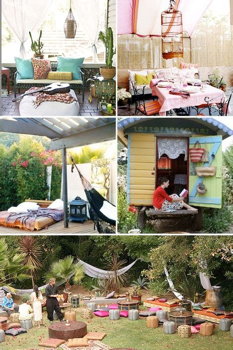 boho tuin deco i like it happy hippie