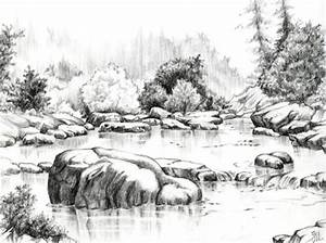 Beautiful Sketches Of Nature Nature pencil drawings ...
