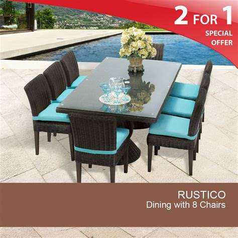 8 person patio table 8 person outdoor dining table wicker patio dining sets