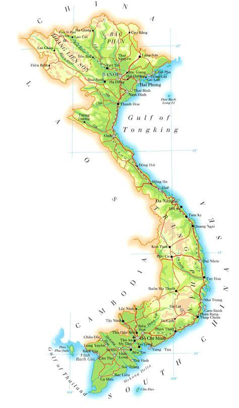vietnam karte provinzen