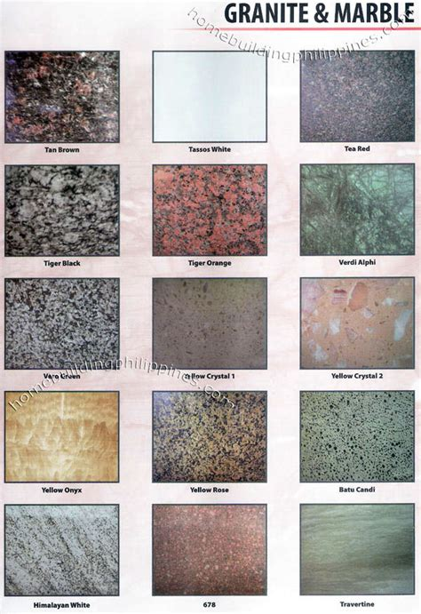 install contractor granite marble tiles blocks philippines