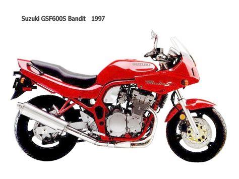 97 Suzuki Bandit 600 by Suzuki Gsf600s Bandit 1997