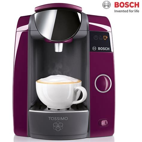 Bosch Tassimo Joy T43 Purple Coffee Machine TAS4301GB