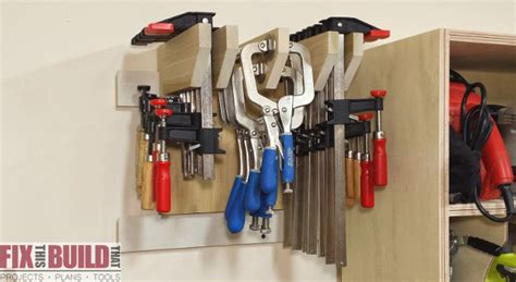 wall clamp storage rack part  fixthisbuildthat