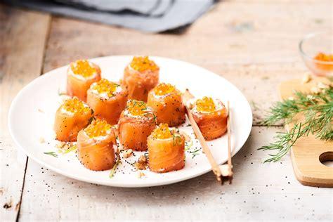 cuisiner la daurade recette makis de truite au fromage frais