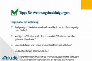 Wohnungsbesichtigung Fragen An Vermieter : wohnungsbesichtigung checkliste f r mieter und vermieter ~ Watch28wear.com Haus und Dekorationen