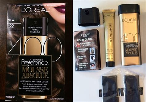 L'oreal Superior Preference Mousse