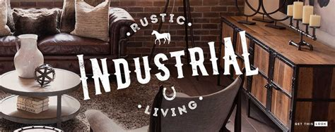 Industrial Interiors Home Decor by Rustic Industrial Decor
