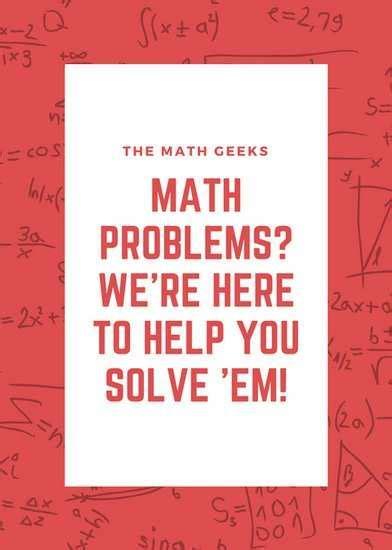 math tutoring flyer template cards design templates