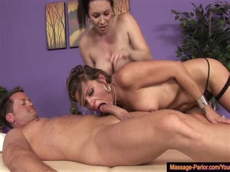 4 hands massage turns to a wild sex theraphy free porn videos youporn