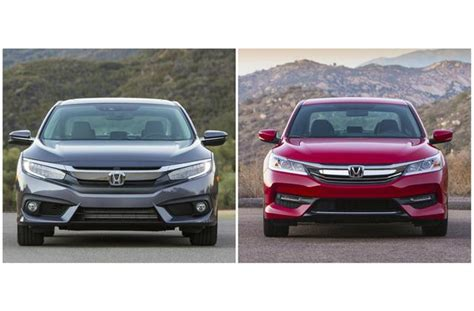 2017 Honda Civic Vs. 2017 Honda Accord: Worth The Upgrade