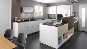 Aménagement Cuisine En U : am nagement de cuisine en u merry meubles ~ Melissatoandfro.com Idées de Décoration