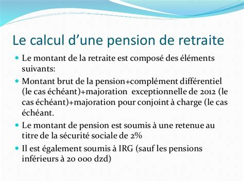 montant de la pension de reversion 28 images pensions