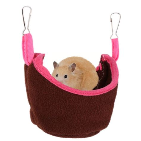 Hamster Hammock by 2018 Small Animals Pets Hamster Hammock Hanging House Bed
