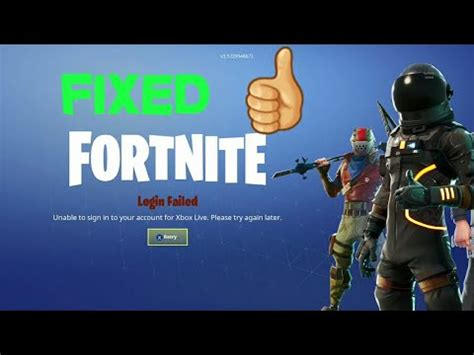 fortnite   fix  login failed problem fortnite