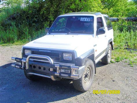 1991 Daihatsu Rocky by 1991 Daihatsu Rocky Pictures 1000cc Gasoline Manual