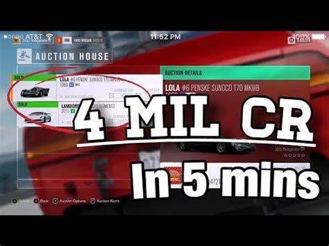 forza horizon 4 credits how to get 4 million credits in 5 minutes forza horizon 3 new money glitch new money method