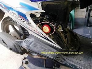 Aneka Alarm Motor  Cara Pasang Alarm Motor Remote Pada Honda Beat 110cc Karbu