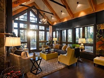 Living Rustic Cool Warm Homesfeed Interior Beams