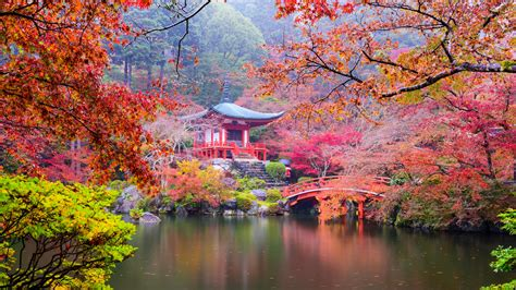日式公园风景高清桌面壁纸_电脑主题网