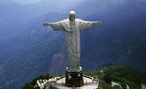 Christ the Redeemer Statue Brazil at Night