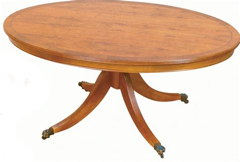 Small Oval Coffee Table  All Products