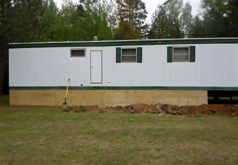 wood skirting for mobile homes mobile home skirting ideas mobile homes ideas 1947