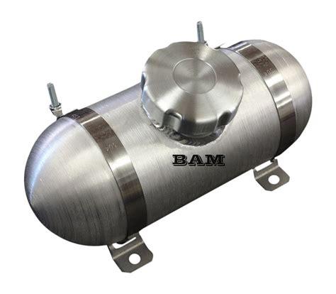 4x8 center fill spun aluminum gas tank new domed end caps go kart ebay