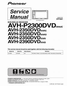 Download Free Pdf For Pioneer Avh