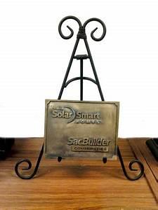 Smart Solar Home Decorative Plaques