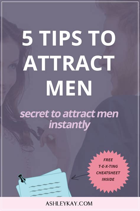 5 Tips To Attract Men  Secret To Attract More Men