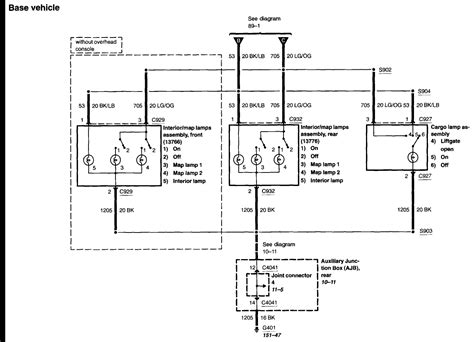 Dome Light Wiring Diagram Ford For Free