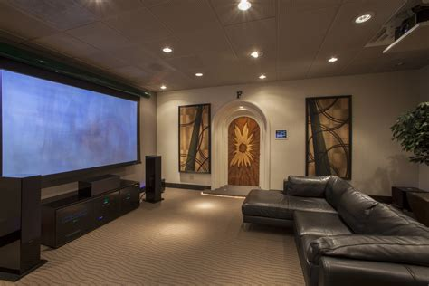 Home Theater Design And Ideas by Awesome Living Room Theater Ideas With Comfortable Black