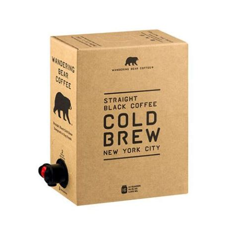 Wandering bear coffee clipart is high quality 600*600 transparent png stocked by pikpng. 10 Best Cold Brew Coffee Brands in 2018 - Delicious Cold Brew Coffee Concentrate