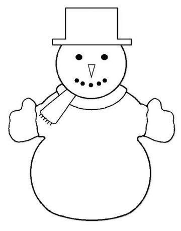 snowman template snowman craft template best craft exle