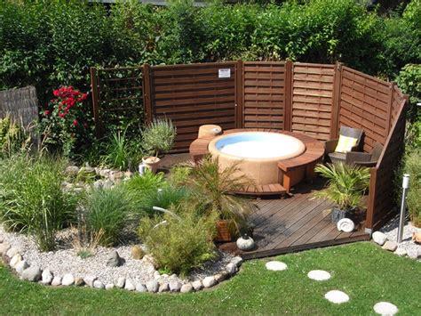 Whirlpool Für Kleinen Garten by Haus Wulf Sauna Garten